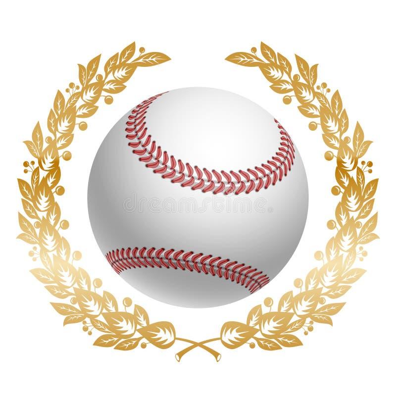 студия съемки бейсбола шарика иллюстрация штока