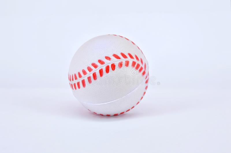 студия съемки бейсбола шарика стоковая фотография rf
