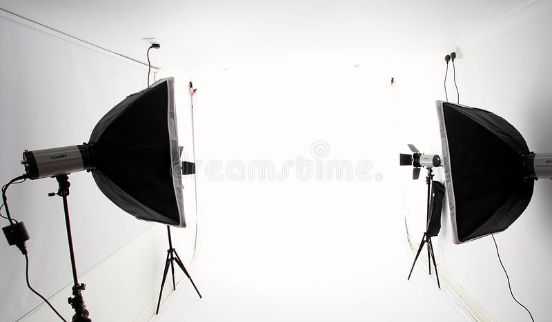 Студия фотографии стоковое изображение rf