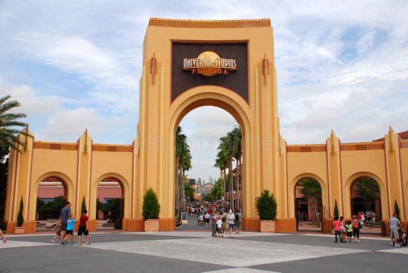 Студия Universal в Орландо, Флориде стоковая фотография