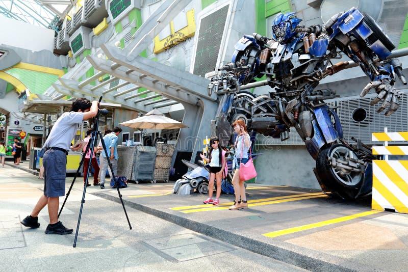 Студия Universal Сингапур стоковая фотография
