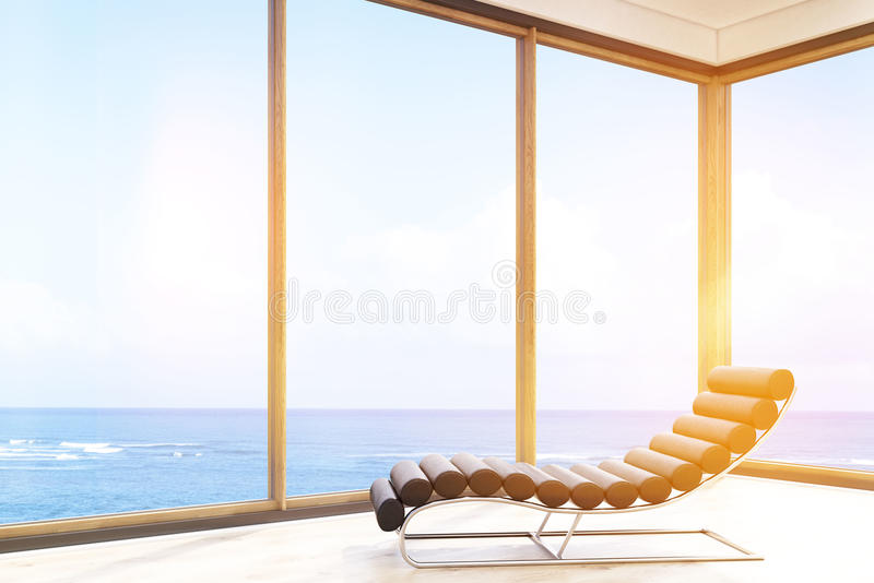 Стул массажа в гостиничном номере иллюстрация вектора