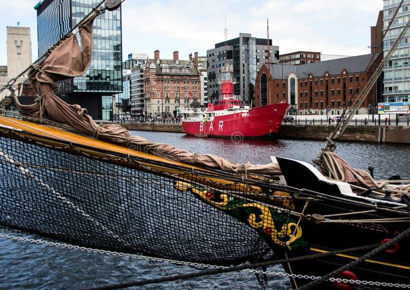 Стыковка Альберта, Ливерпуль стоковая фотография