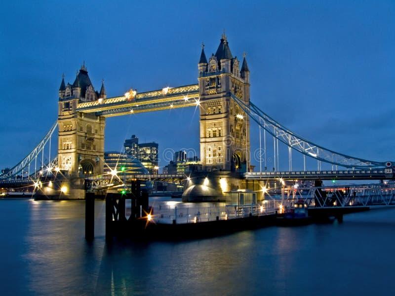 стыковка моста стоковые изображения