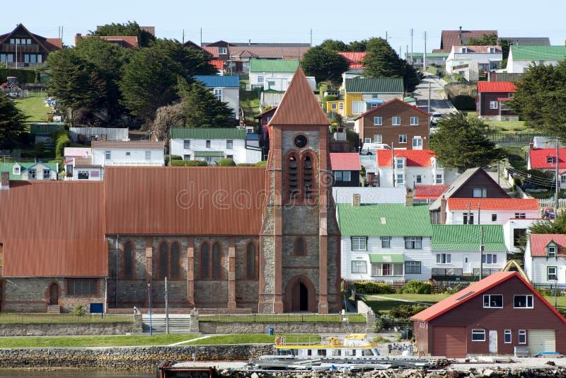 Стэнли, Falkland Islands стоковое изображение rf