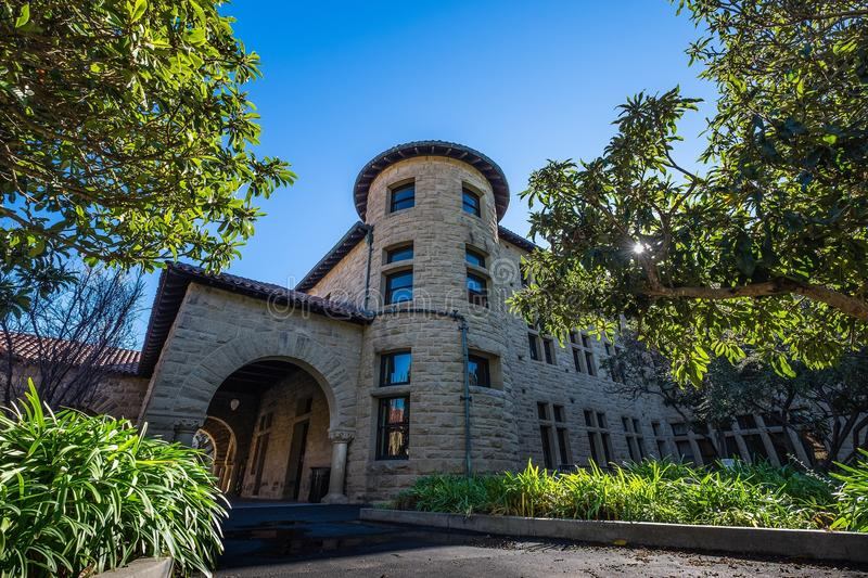 Стэнфордский университет стоковые изображения rf