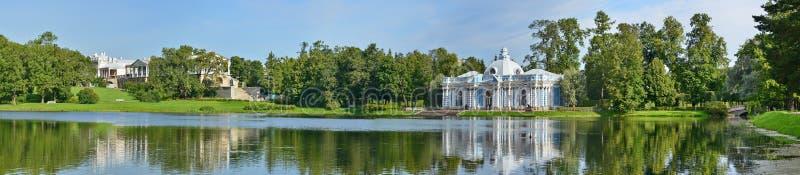 Ст Петерсбург, Pushkin, парк Кэтрины стоковое изображение rf