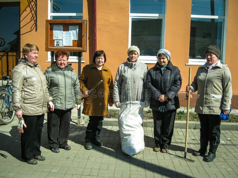 Суббота в зоне Kaluga в России стоковое изображение rf