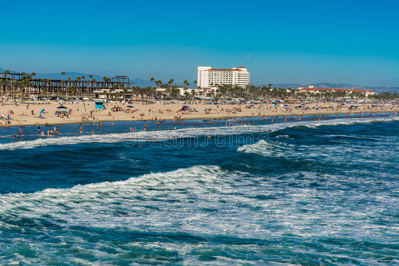Суббота на пляже стоковые изображения rf