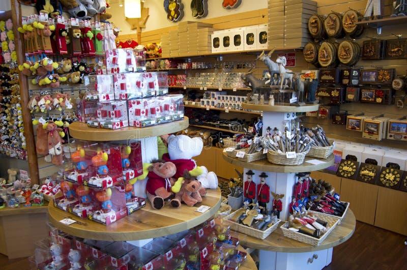 Сувенирный магазин Ванкувер Канада стоковое изображение rf