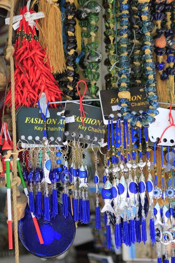 Сувениры в городе Яффы старом стоковые фото