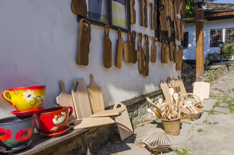 Сувениры от Болгарии стоковое фото
