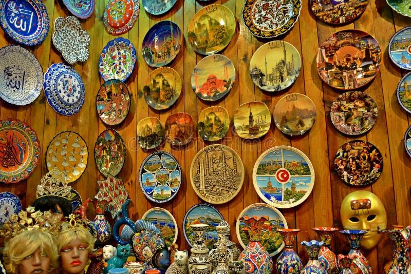 Сувениры Стамбула стоковые изображения