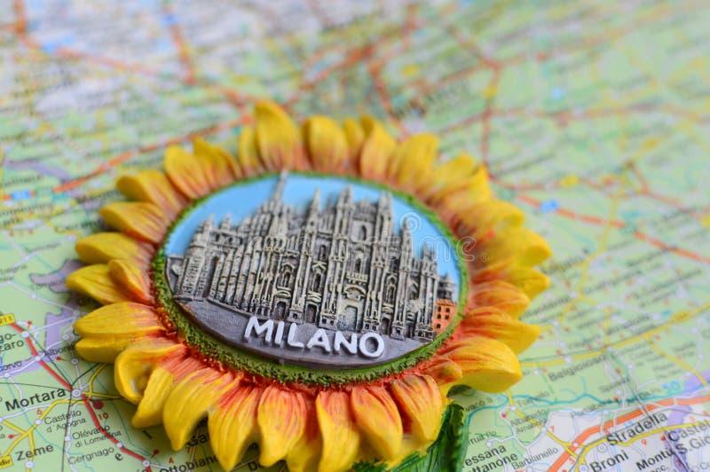 Сувенир от милана, Италии стоковые фотографии rf