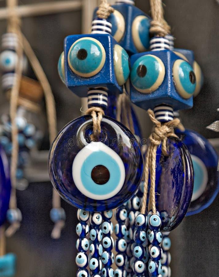 Сувенир от Турции - глаз отбортовывает стоковые изображения