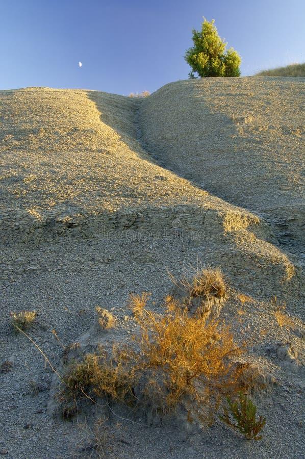 суглинок Испания ландшафта стоковые изображения rf