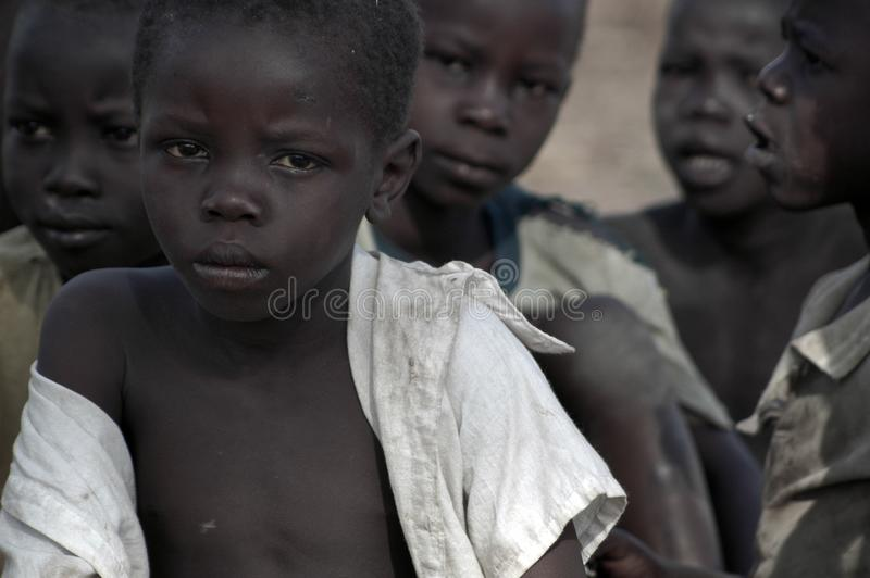 суданец Уганда беженцев arua стоковая фотография rf