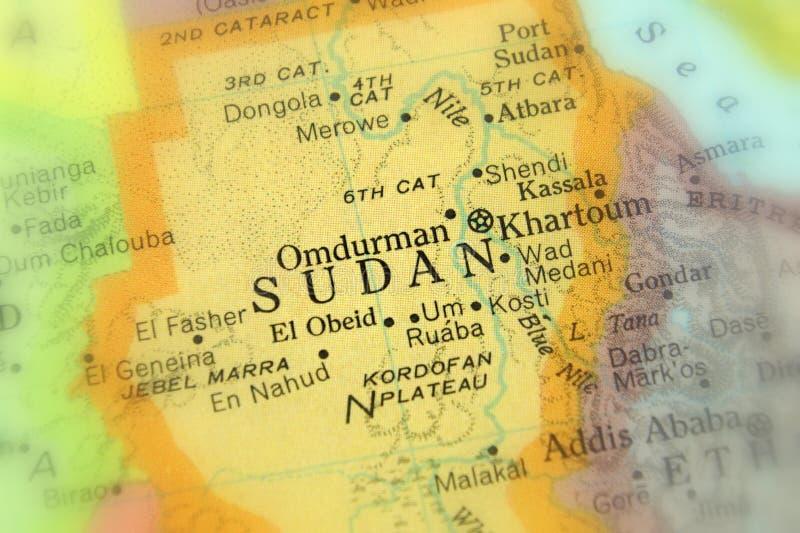 Судан, Северо-Восточная Африка стоковое изображение