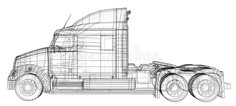 Судоходство, транспорт снабжения и провод концепции промышленного дела грузового транспорта груза коммерчески бесплатная иллюстрация
