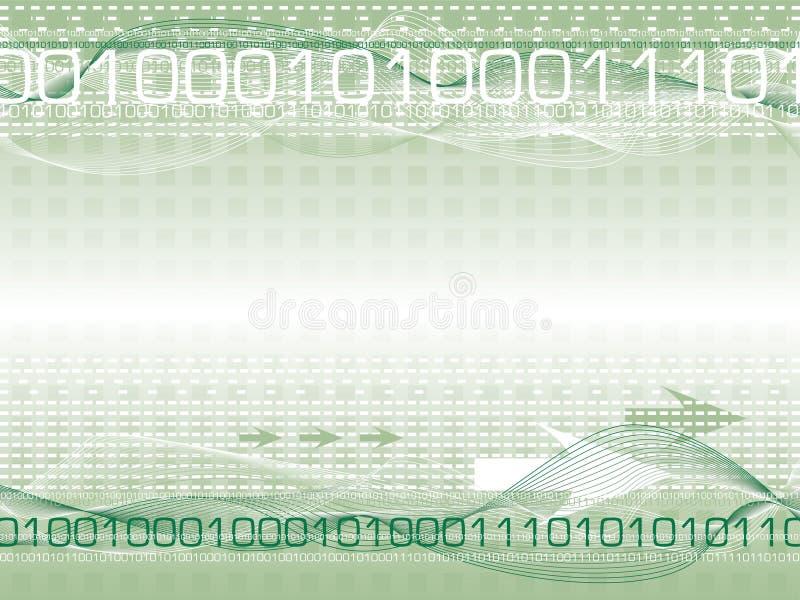 судьба цифровой g иллюстрация вектора