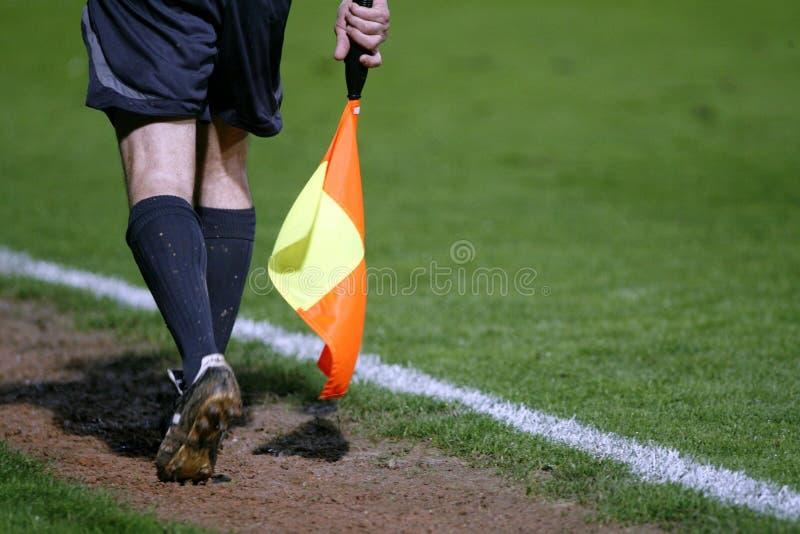 судья-рефери футбола стоковое изображение rf