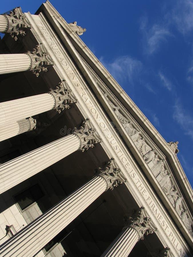 суд новый высший york стоковое изображение rf