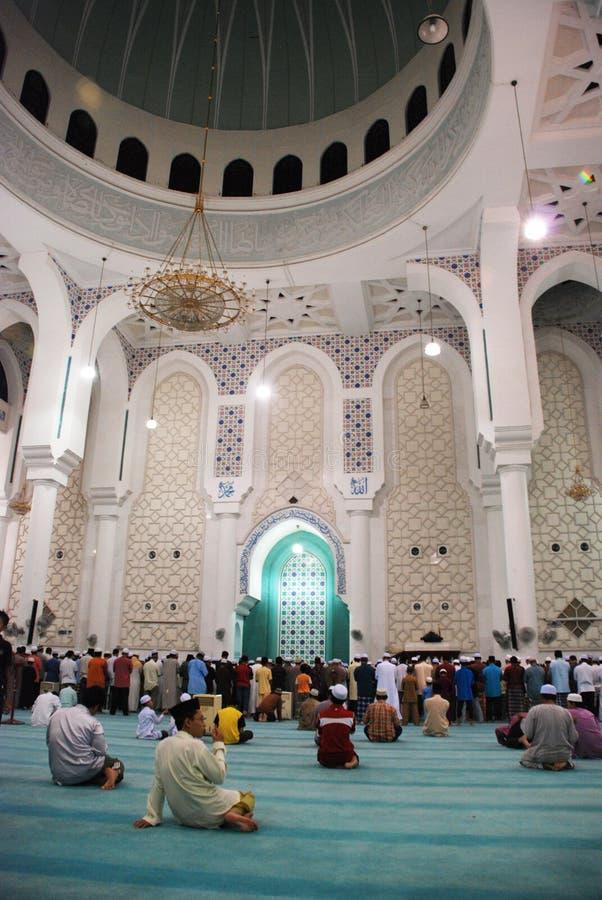 султан pahang мечети ahmad i kuantan стоковые изображения