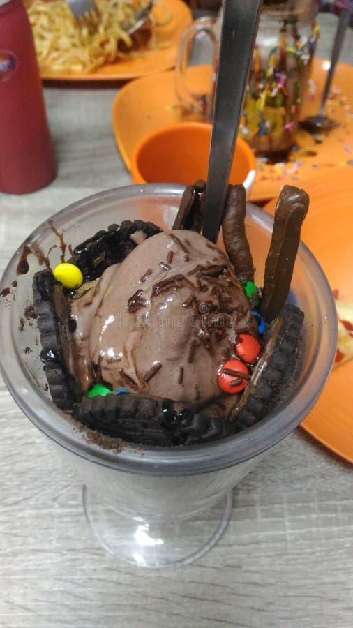 Сумасшествие шоколада стоковое фото