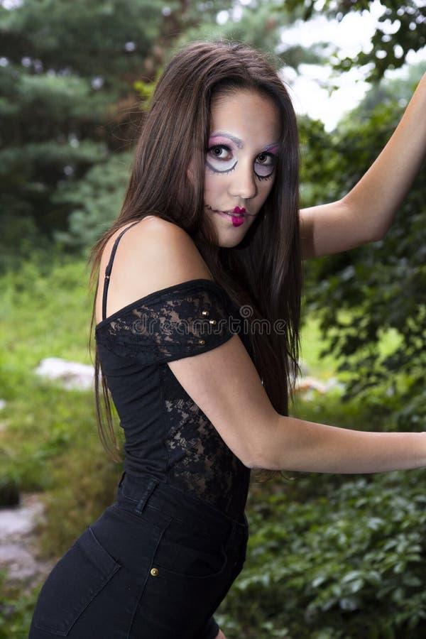 Сумашедшая кукла стоковая фотография