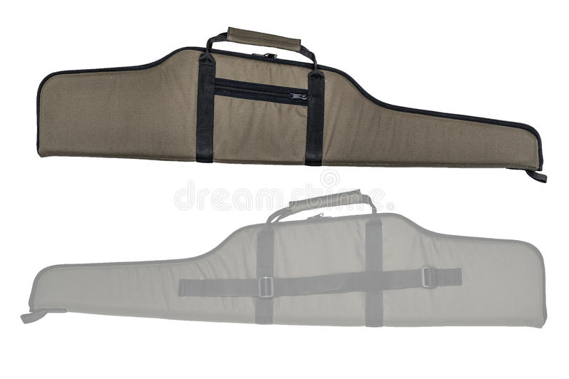 Сумка для скрытый носит пистолет-пулемета изолировано стоковые изображения rf