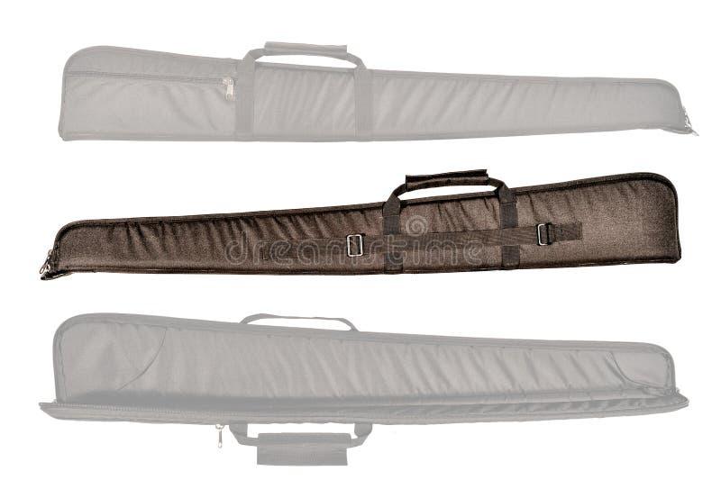 Сумка для скрытый носит пистолет-пулемета изолировано стоковое изображение rf