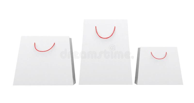 Download Сумки белой бумаги различных форм, красные ручки строки Иллюстрация штока - иллюстрации насчитывающей backhoe, отрезок: 40583703