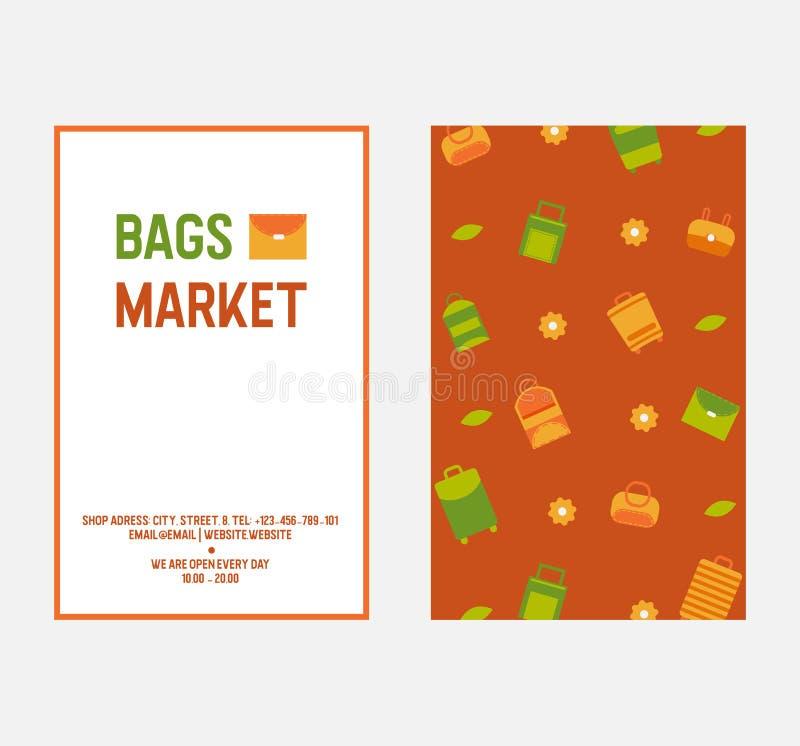 Сумки и иллюстрация и картина вектора сторон сумок 2 женщин Сумки Tote, покупателя, hobo, ведра, satchel и мешка иллюстрация вектора