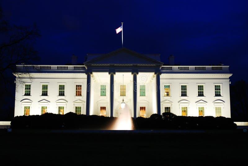 Сумрак, Белый Дом, Вашингтон, DC стоковые фото