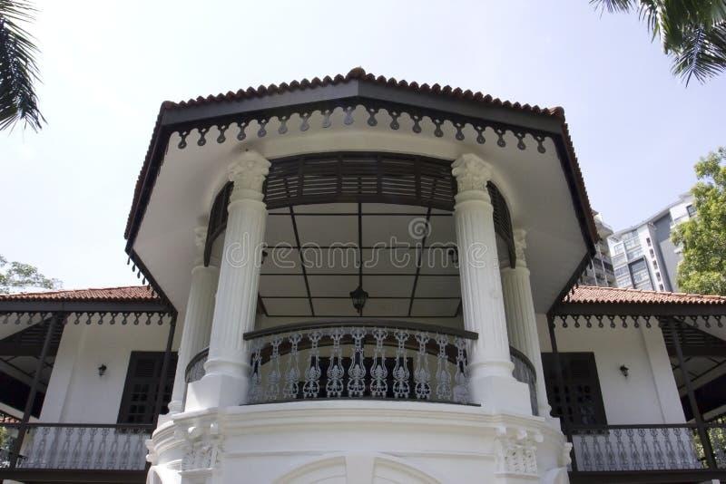 Сунь Ятсен Nanyang мемориальный Hall, Сингапур стоковое фото rf