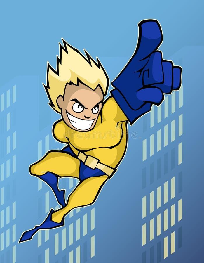 Супергерой иллюстрация штока