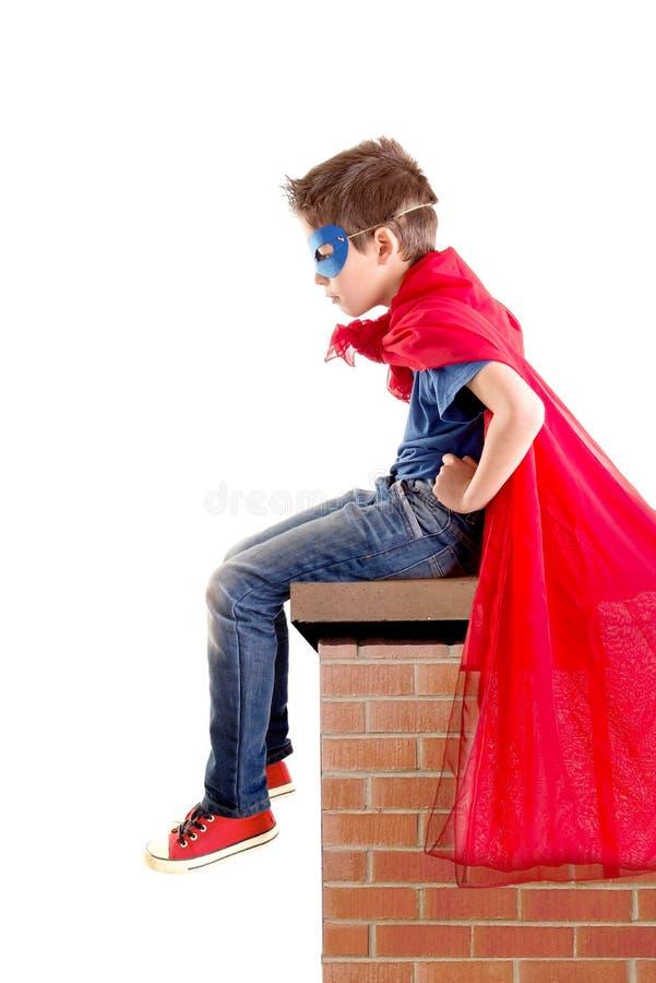 супергерой стоковая фотография
