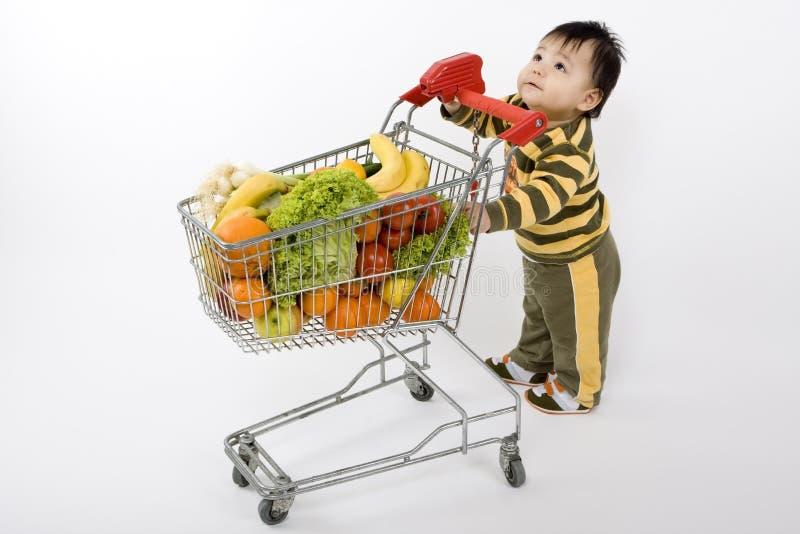 супермаркет младенца стоковое фото rf
