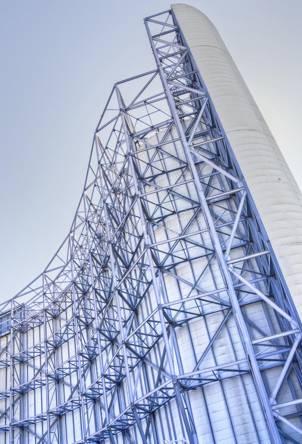 Суперструктура тоннеля ветра на NASA Ames стоковое изображение rf