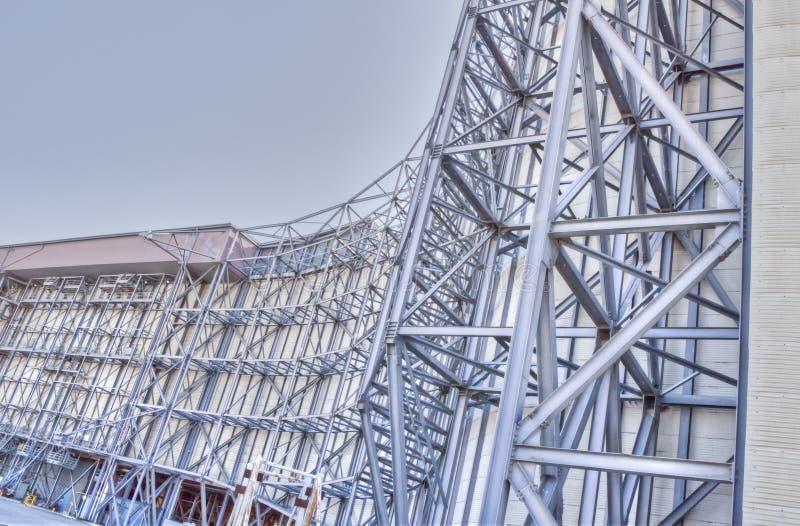 Суперструктура тоннеля ветра--NASA Ames стоковые фото