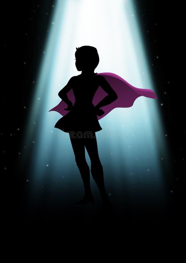 Супер героиня бесплатная иллюстрация