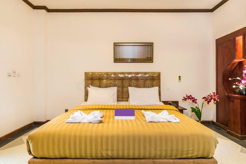Супер делюкс спальня гостиницы стоковое фото