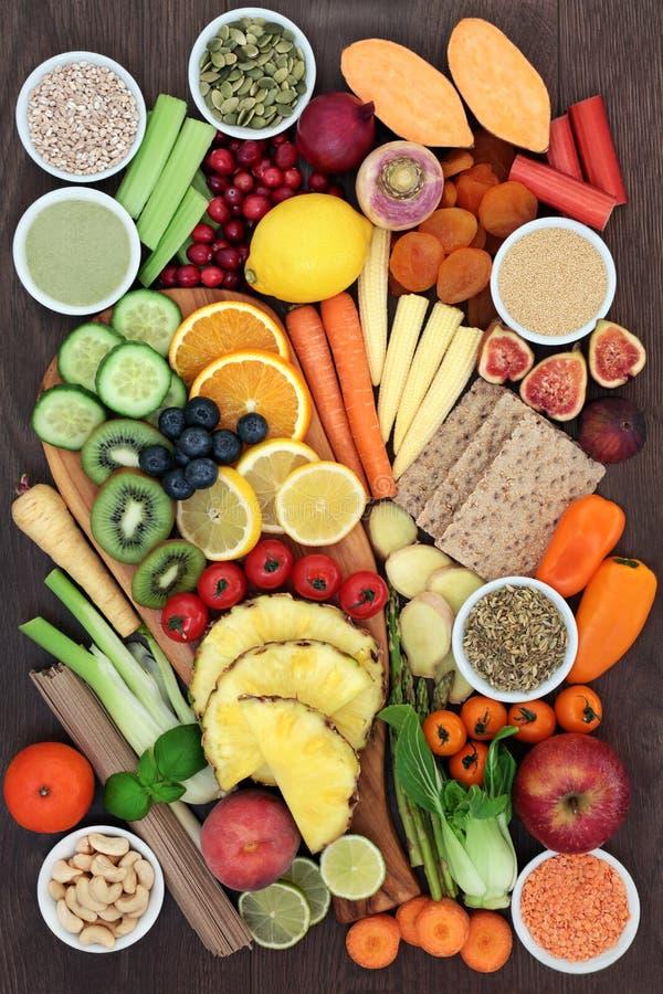 Супер еда для потери веса стоковое изображение