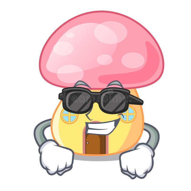 Супер крутой гриб дома феи на мультфильме бесплатная иллюстрация