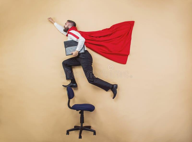 Супер менеджер стоковое изображение rf