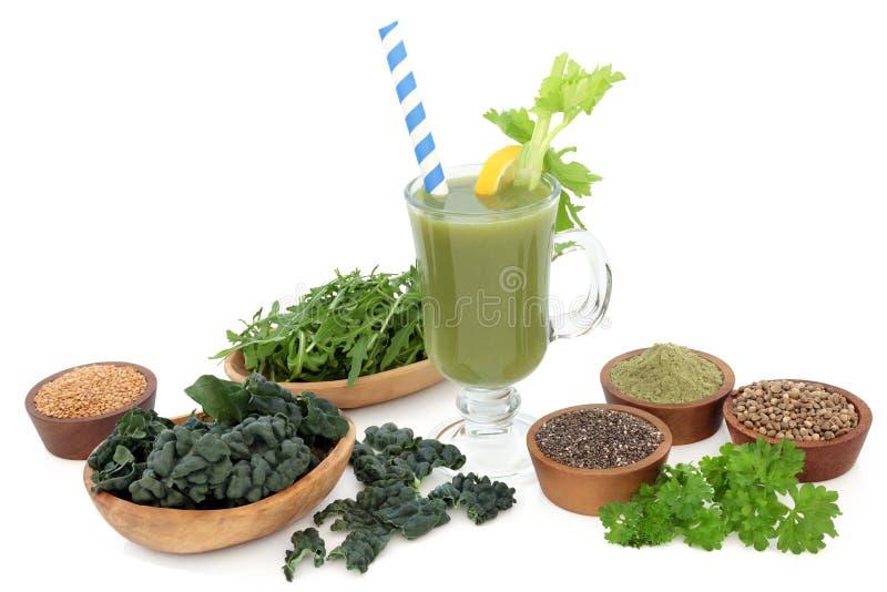 Супер напиток здоровья еды стоковая фотография rf