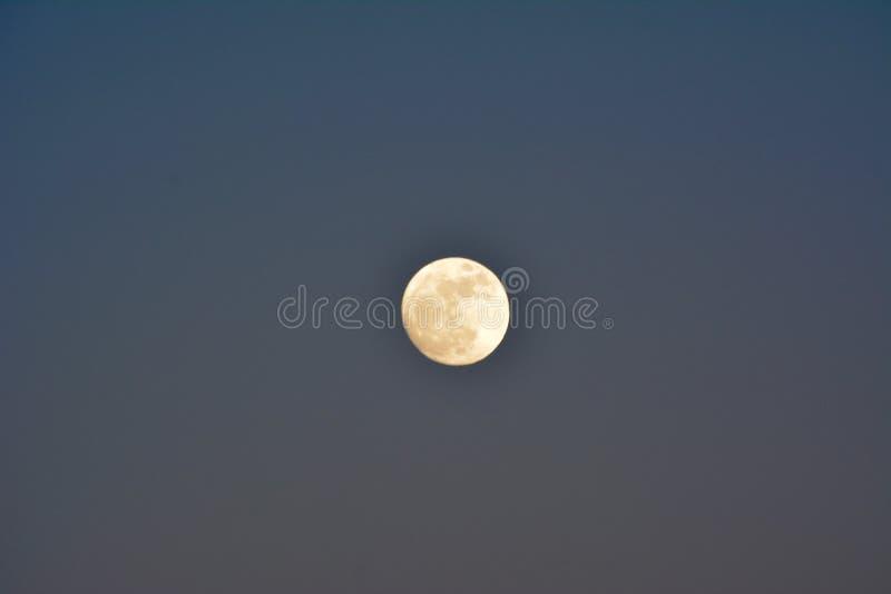Супер Новые Годы Eve 2017 луны стоковое фото