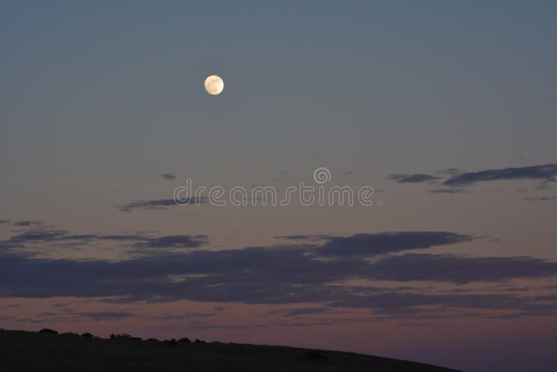 Супер Новые Годы Eve 2017 луны стоковые фото
