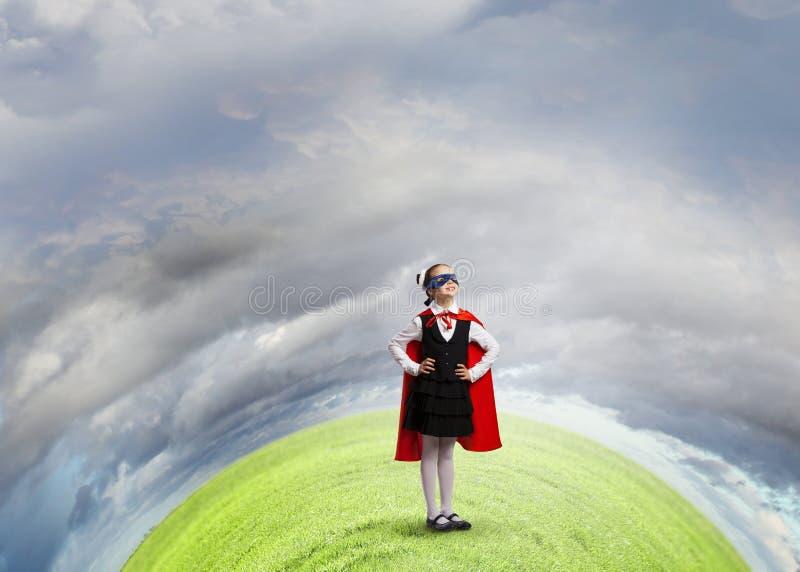 Супер ребенк стоковое изображение rf