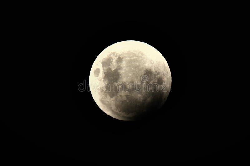 Супер событие 31-ое января 2018 луны голубой крови стоковые фотографии rf